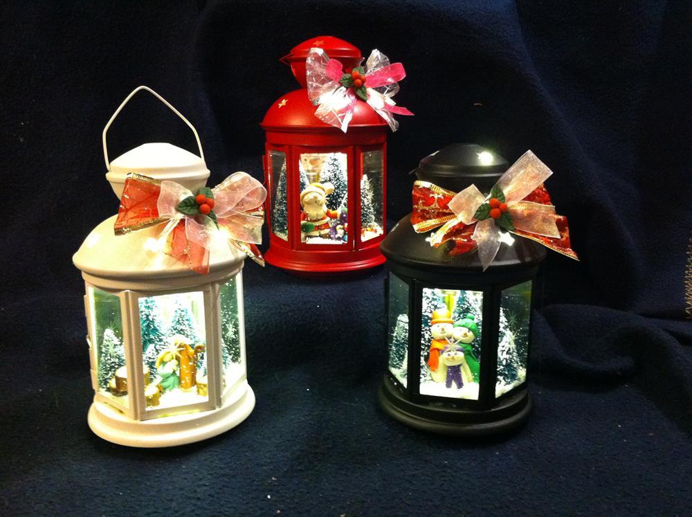 Lanterne natalizie l 39 angolo di mofi for Decorazione lanterne natale